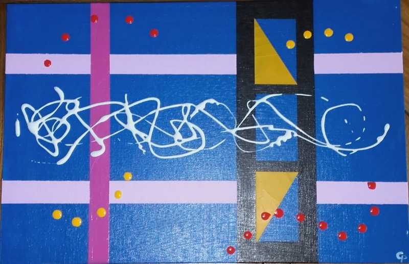 Peinture  abstraite 910