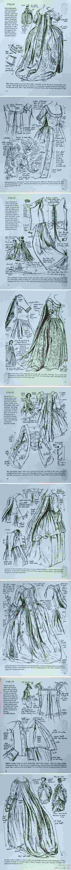 robes XVIIIe: styles, couleurs et matières  8b69a511