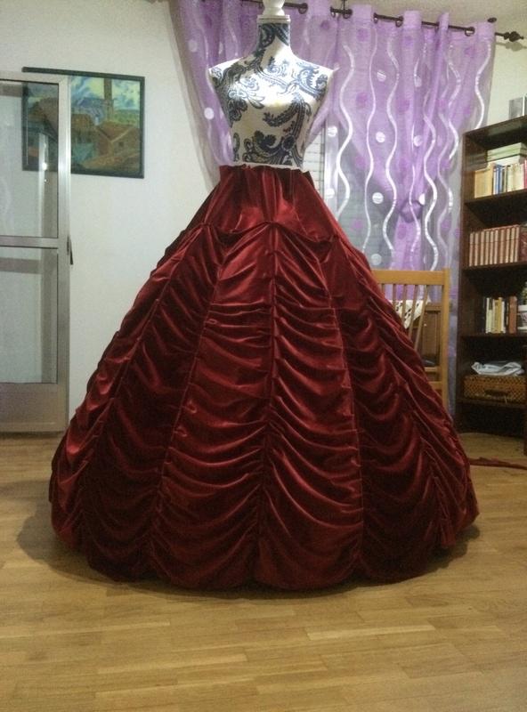 PROCESOS COSPLAY: Beatrice, la Bruja Dorada  Img_2710