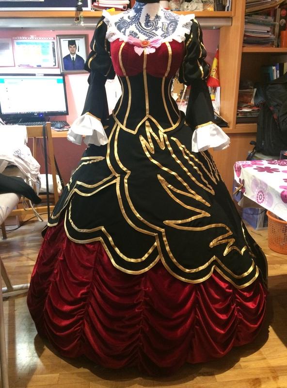 PROCESOS COSPLAY: Beatrice, la Bruja Dorada  Img_5923