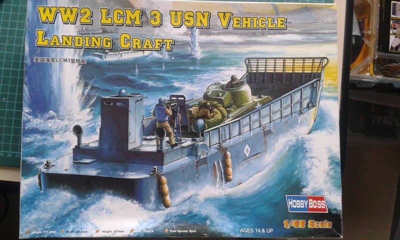 6 Juin 1944 - Au large d'Utah Beach - LCM(3)  20170385
