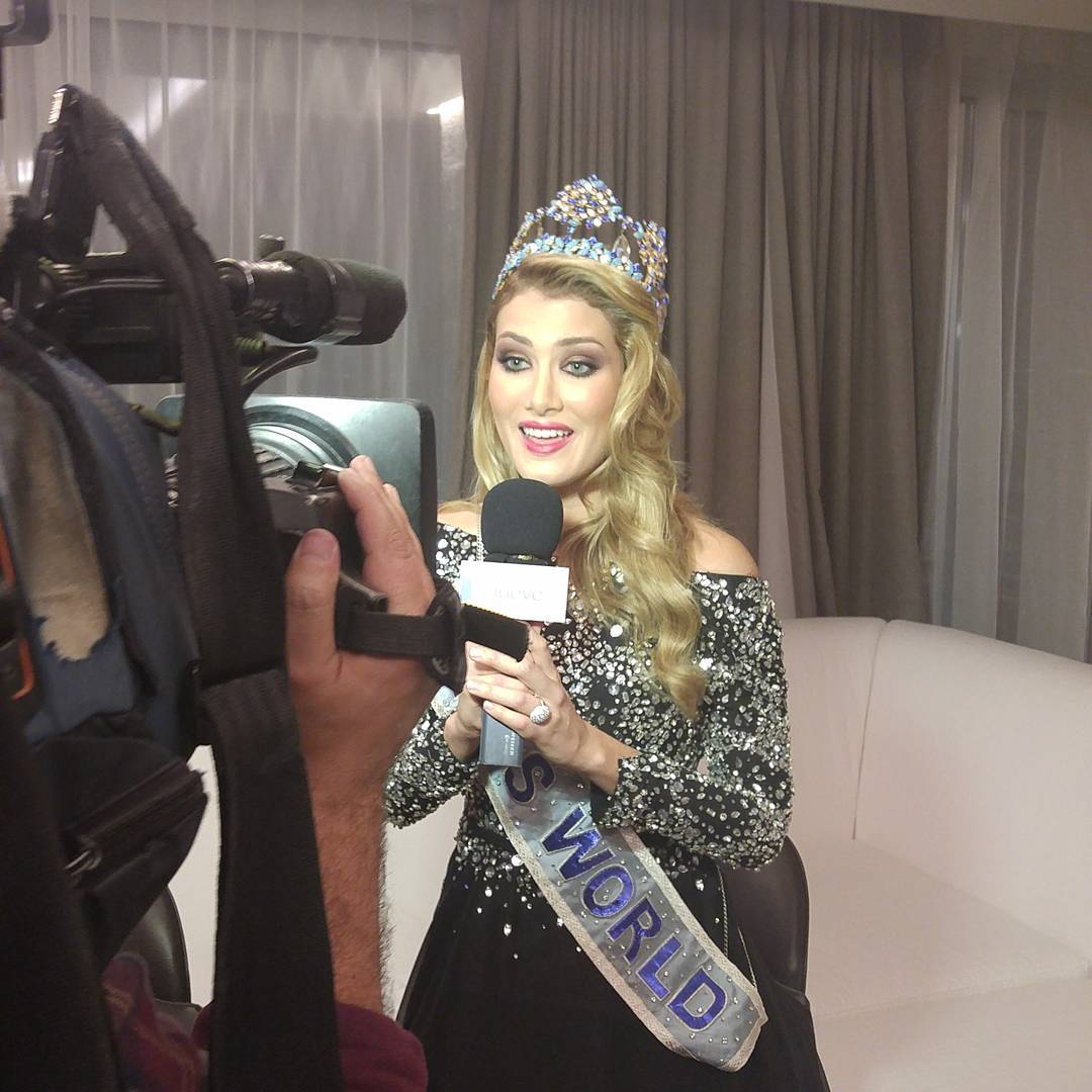 mireia lalaguna, miss world 2015. - Página 12 12547610