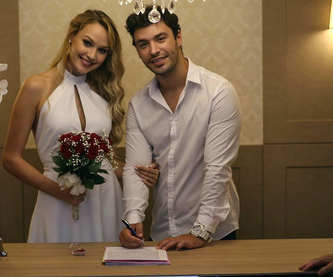casou-se a vice do miss brasil universo 2015 com o mr roraima 2010. 16789710