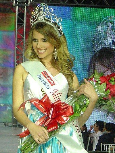 andrea matthies, finalista de miss continente americano 2008. 17411