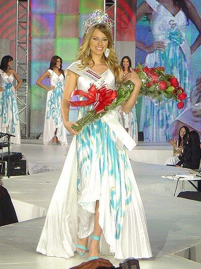 andrea matthies, finalista de miss continente americano 2008. 17610