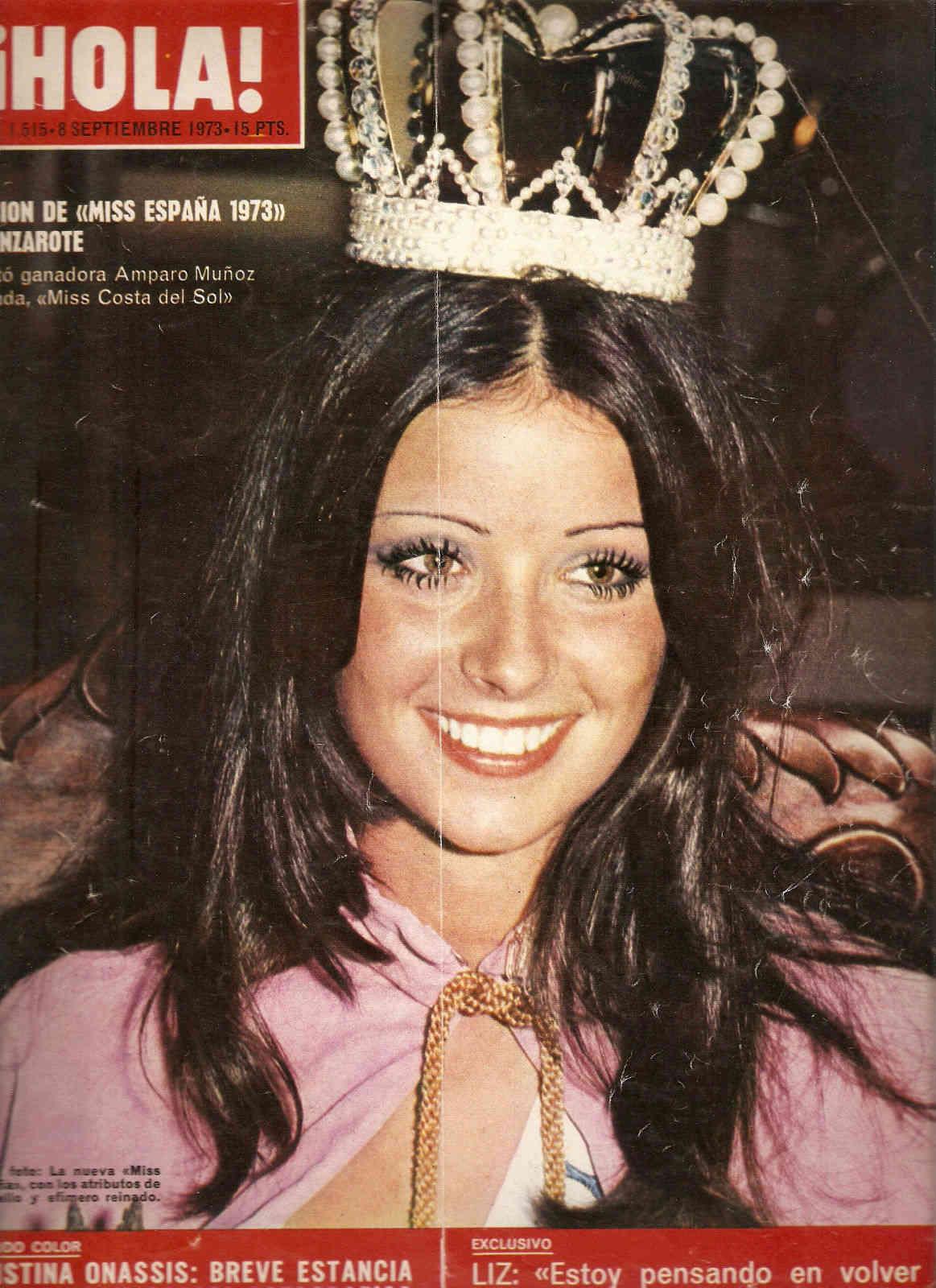 amparo munoz, miss universe 1974. † 19732b10