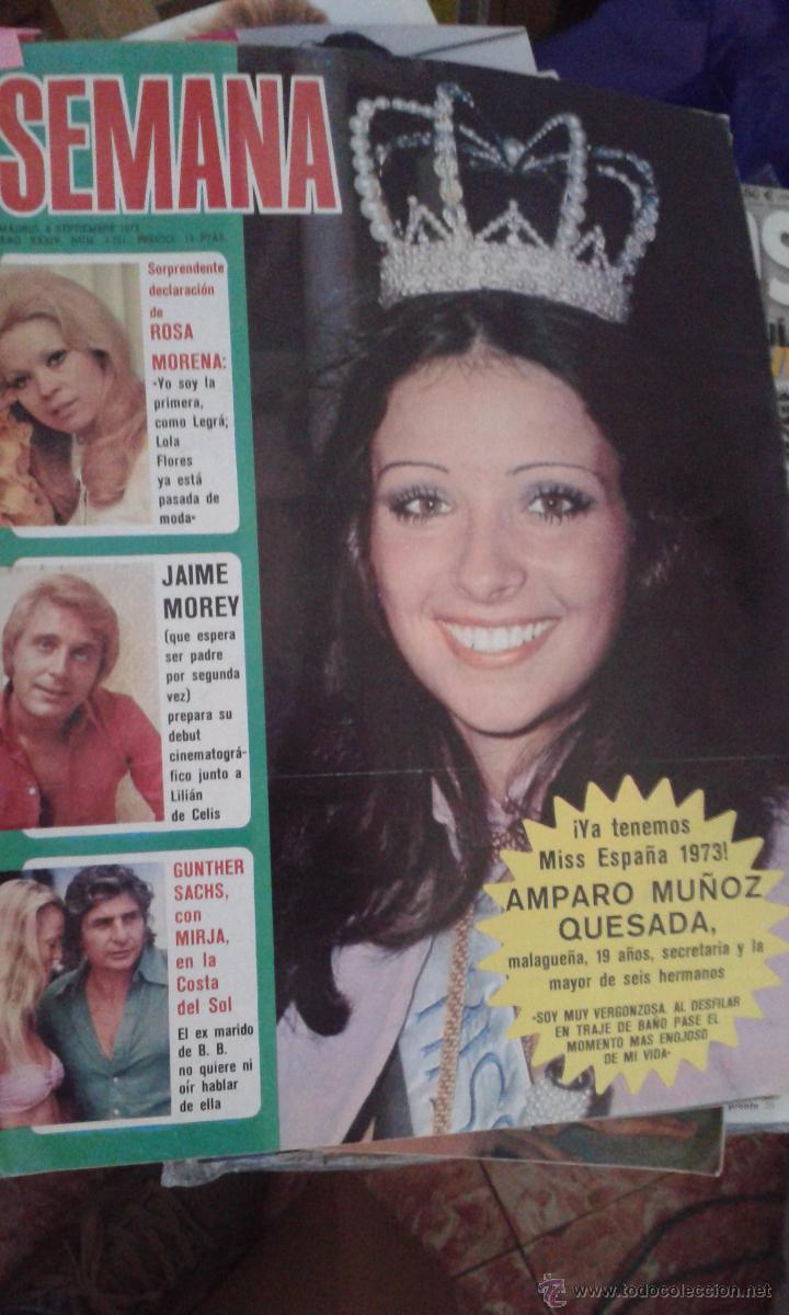 amparo munoz, miss universe 1974. † 19732b11