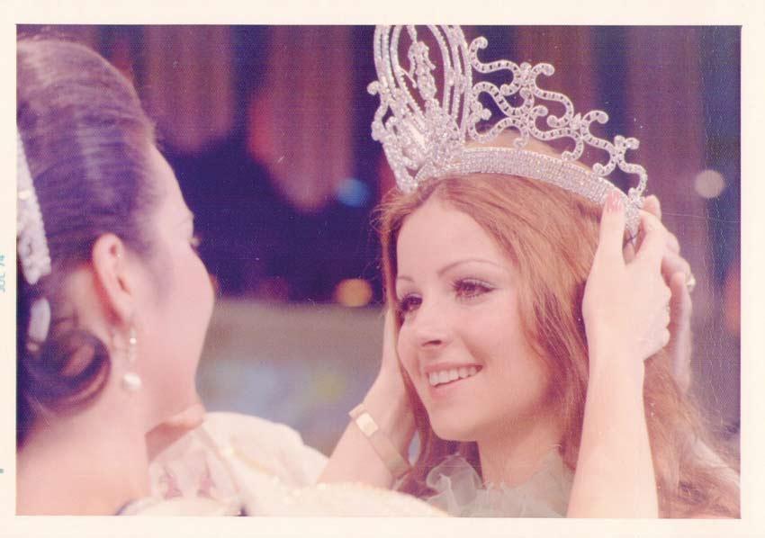 amparo munoz, miss universe 1974. † Amparo14