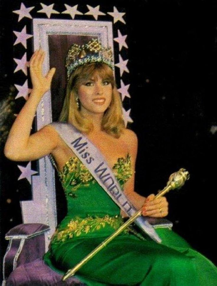pilin leon, miss world 1981. C3363310