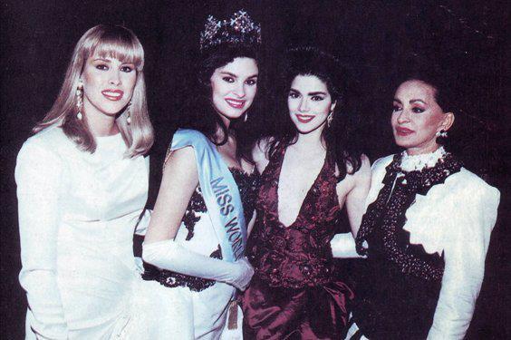 pilin leon, miss world 1981. Cuatro10