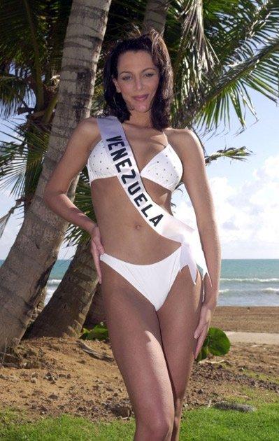 eva ekvall, 3rd runner-up de miss universe 2001. † E710