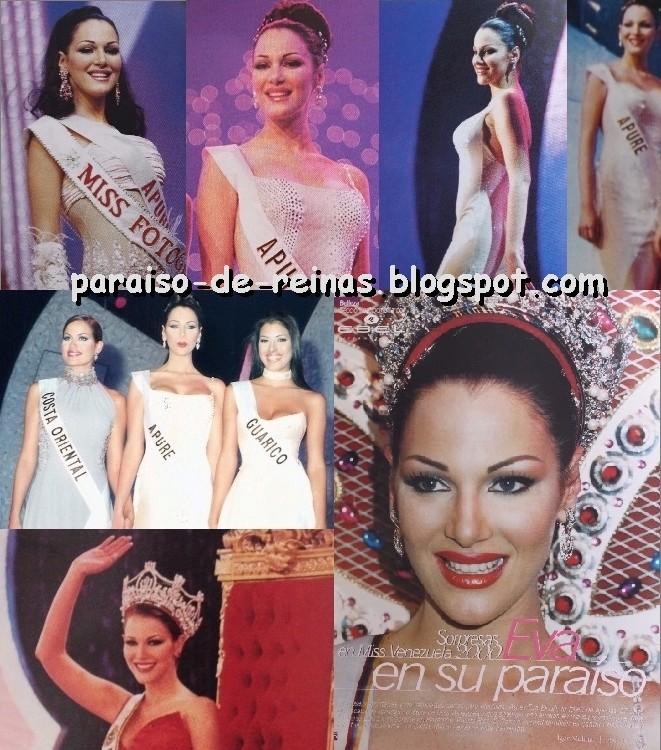 eva ekvall, 3rd runner-up de miss universe 2001. † Evaekv13
