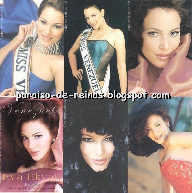 eva ekvall, 3rd runner-up de miss universe 2001. † Evaekv15