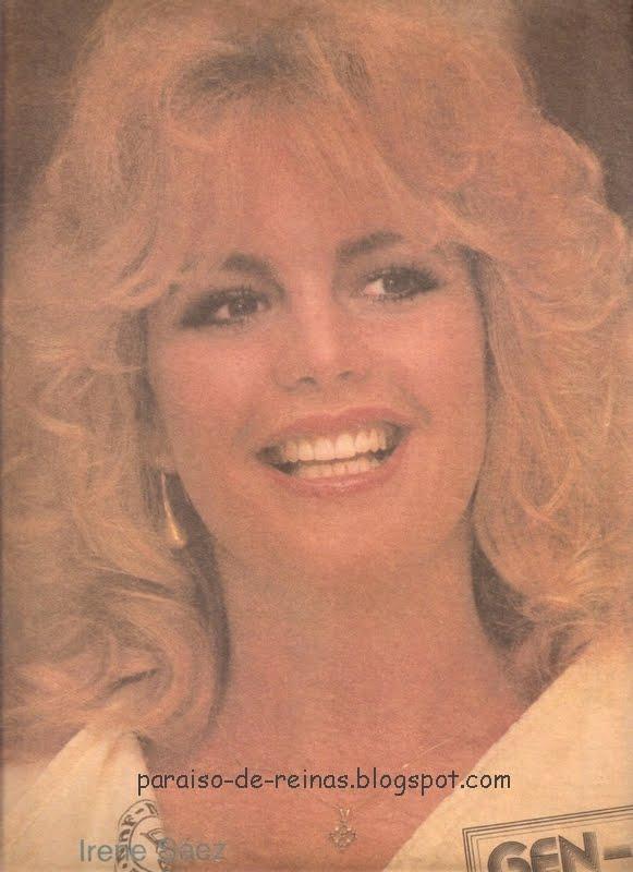 irene saez, miss universe 1981. - Página 4 Irene213