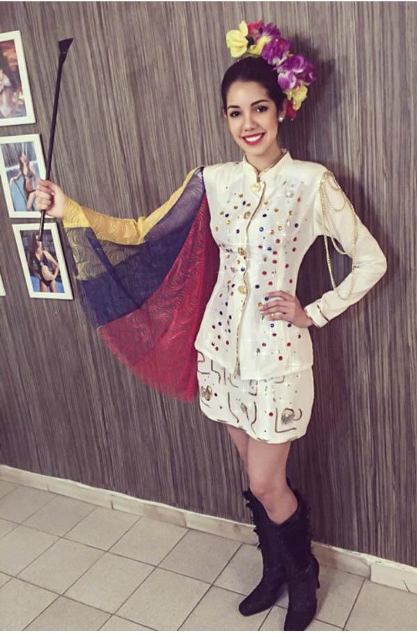 reina rojas, top 20 de miss grand international 2015. Miss510