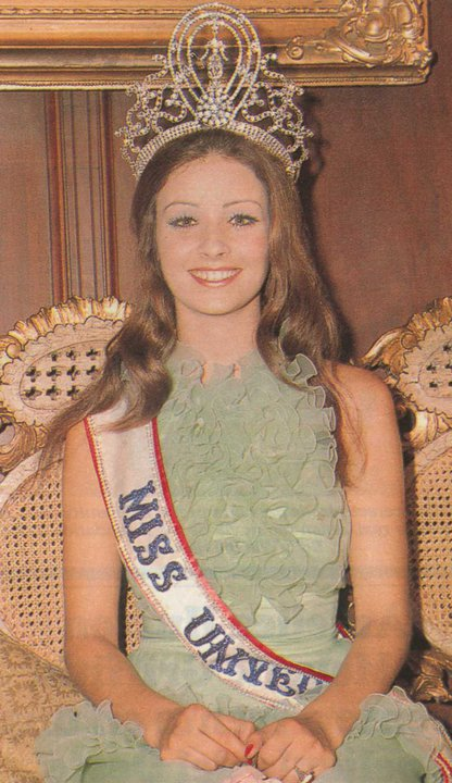 amparo munoz, miss universe 1974. † Miss7410