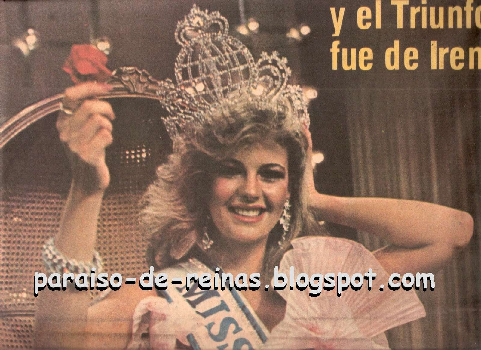irene saez, miss universe 1981. - Página 5 Missve13