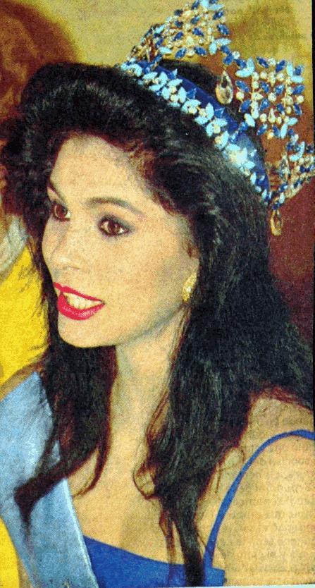 ninibeth leal, miss world 1991. Ninibe10