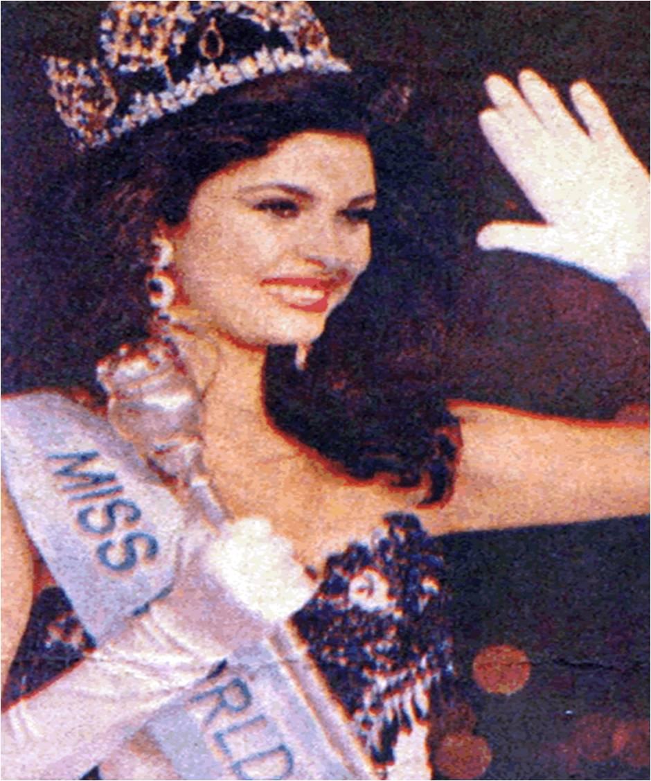 ninibeth leal, miss world 1991. Ninibe11