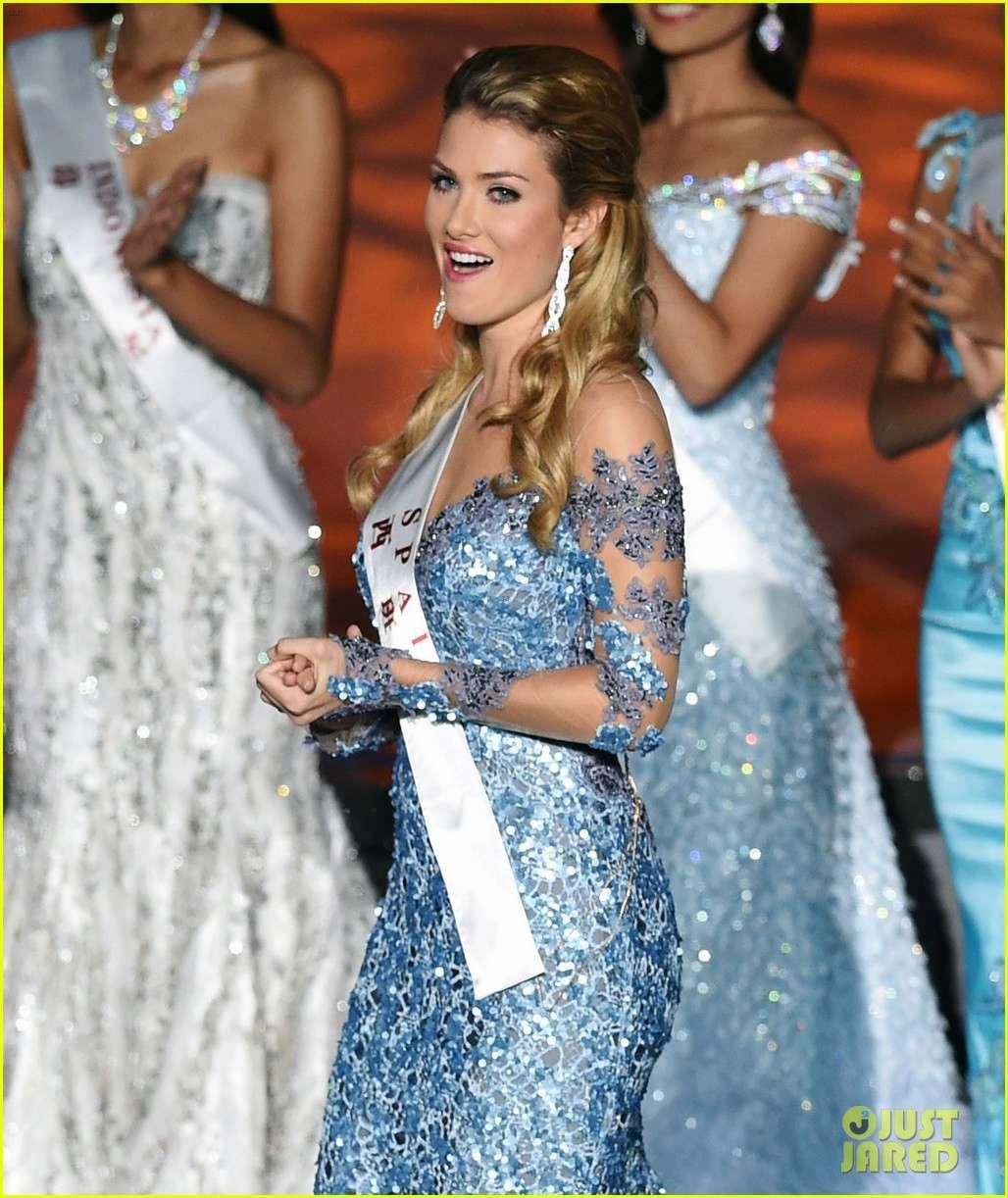 mireia lalaguna, miss world 2015. Who-wo11
