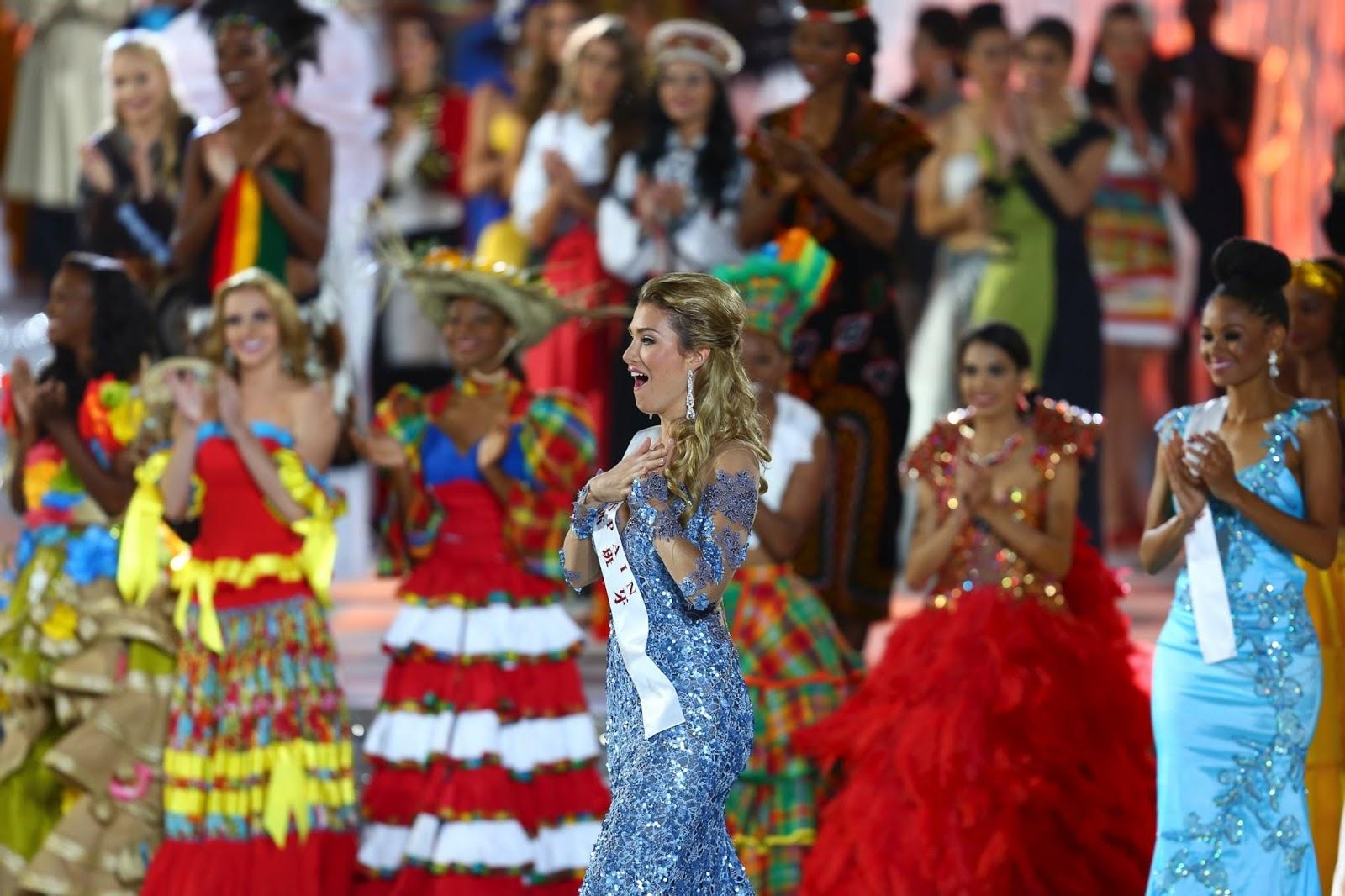 mireia lalaguna, miss world 2015. - Página 2 Wireap10