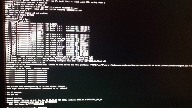 Kernell Panic à l'installation  GAZ97X gaming Gt I5 4460 [resolu] 20170313