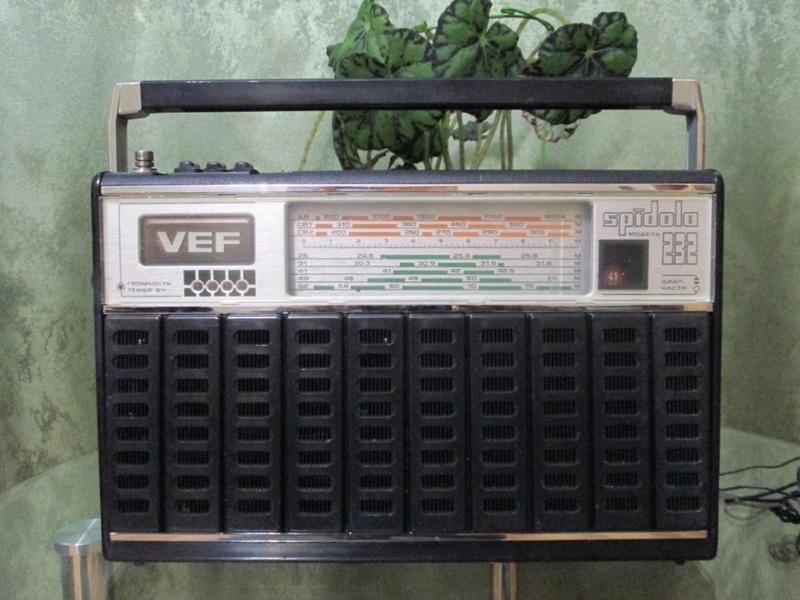 Бытовые радиоприёмники СССР 110
