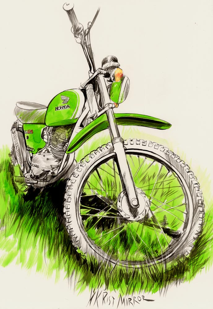 Les dessins des Motos des copains Honda_11