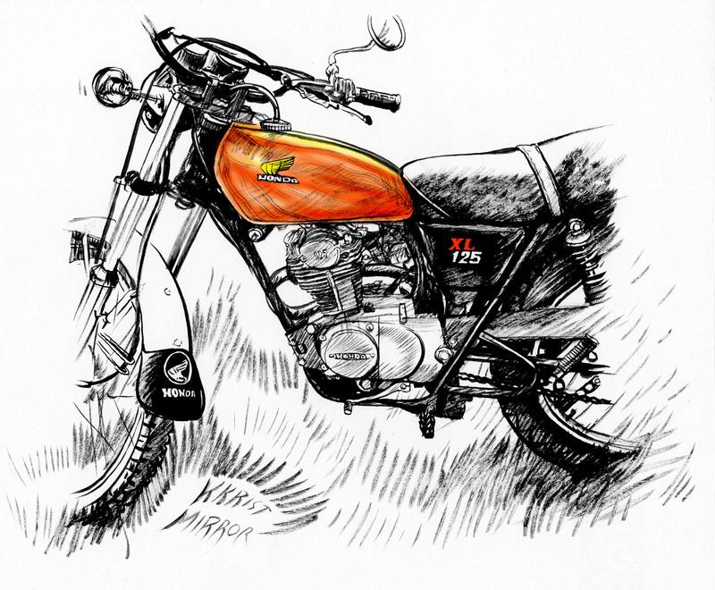 Les dessins des Motos des copains Honda_12