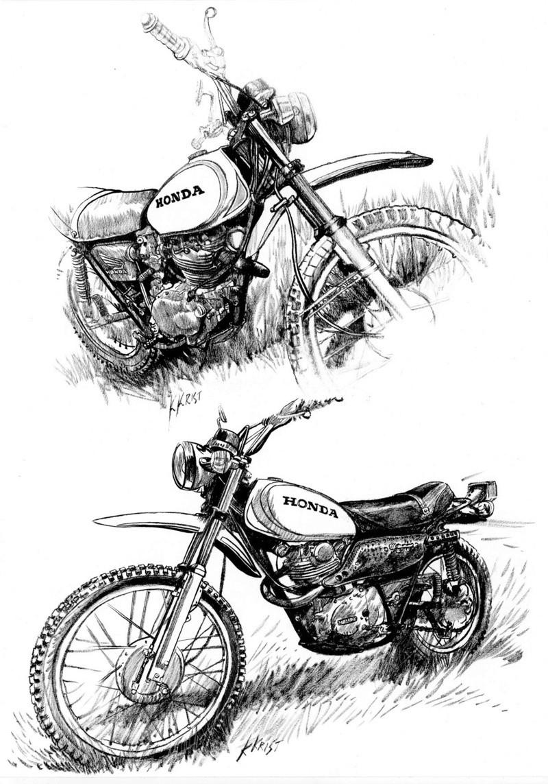 Les dessins des Motos des copains Honda_13