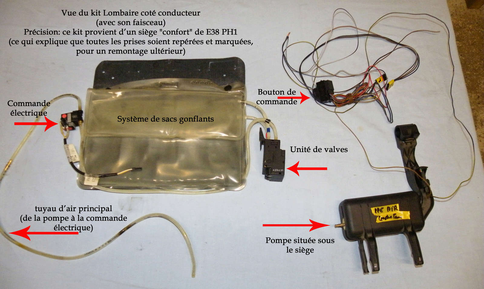 [Tutoriel] Rétrofit système Lombaire AV sur E38 Rsc18p10