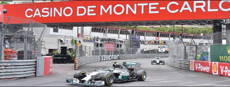 27 - 28  Mayo - Automovilismo. Mundial F1. 6ª prueba. GP de Mónaco. Bg110