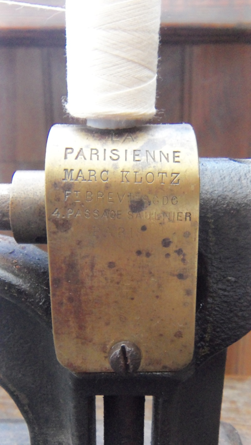 La parisienne - Marc Klotz - 4 passage Saulnier PARIS - (second Empire / Napoléon III) 101_3514