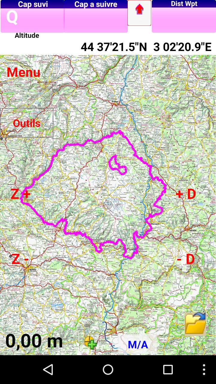 Calibrage cartes France et référentiels Screen12