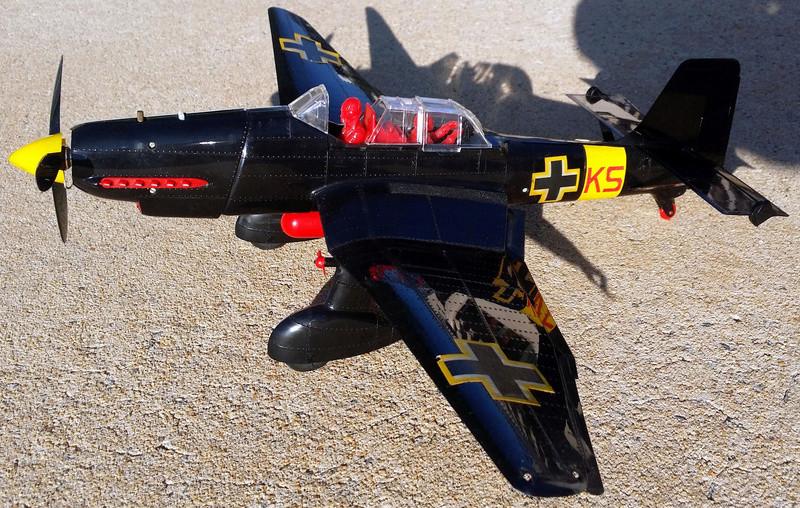 For Sale Cox RTF Black Stuka C/L St111