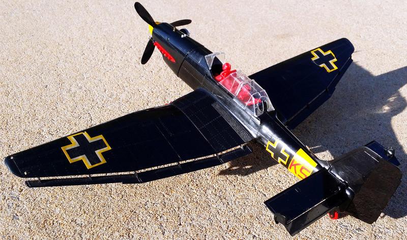 For Sale Cox RTF Black Stuka C/L St211