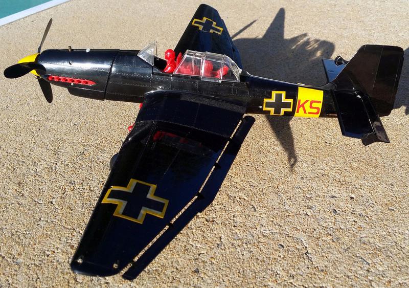 For Sale Cox RTF Black Stuka C/L St410