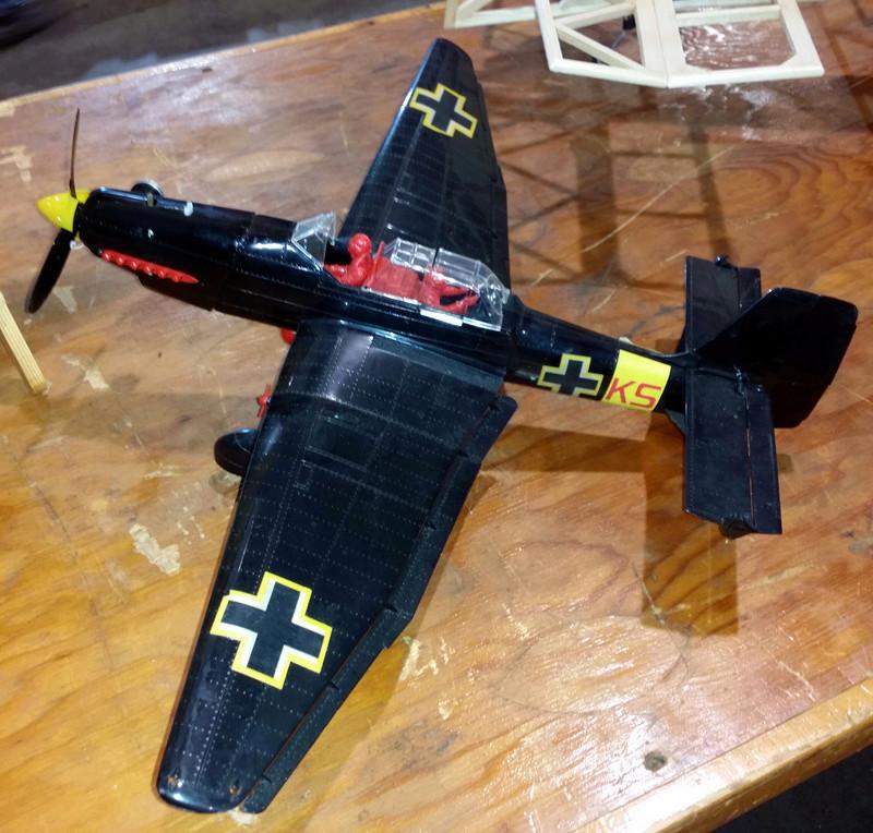Help! Looking for a Black Stuka Fin / Rudder Stuka10