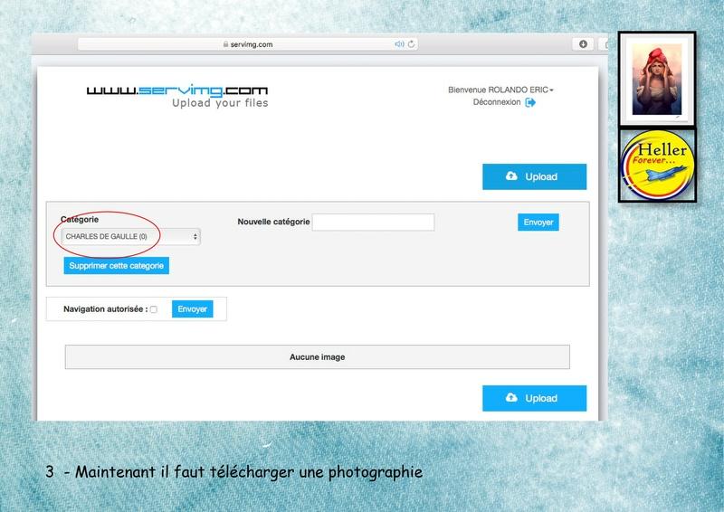 Comment insérer une image dans un post à partir de SERVIMG ...  00510
