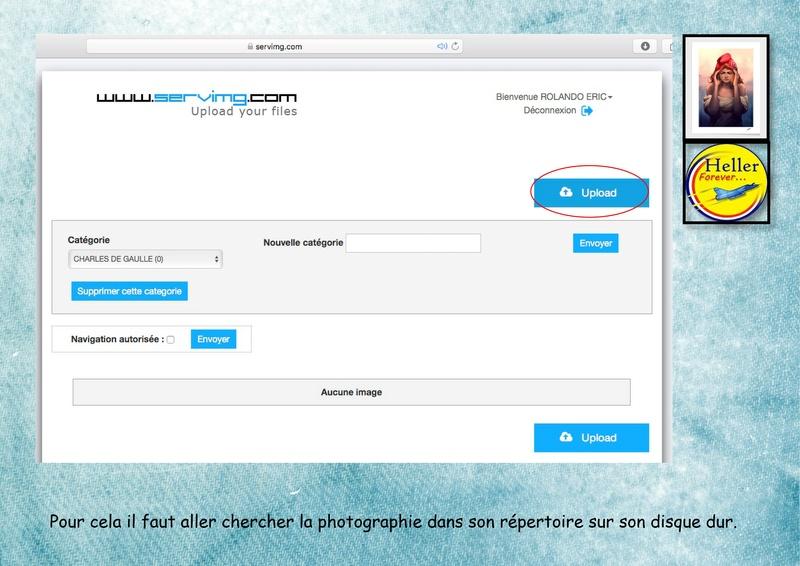Comment insérer une image dans un post à partir de SERVIMG ...  00610
