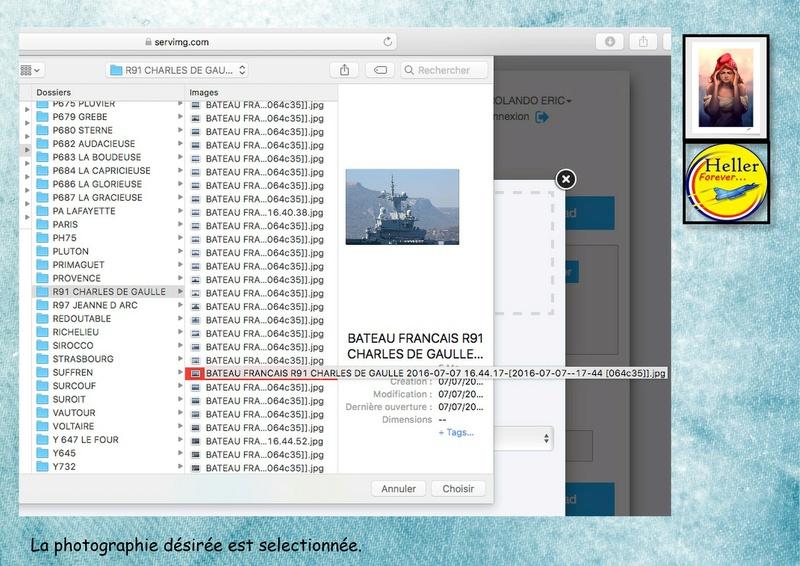 Comment insérer une image dans un post à partir de SERVIMG ...  00810