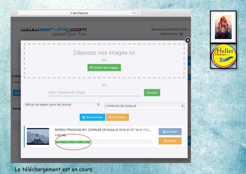 Comment insérer une image dans un post à partir de SERVIMG ...  01010