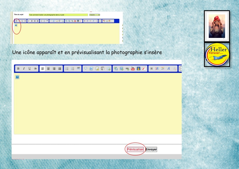 Comment insérer une image dans un post à partir de SERVIMG ...  01510