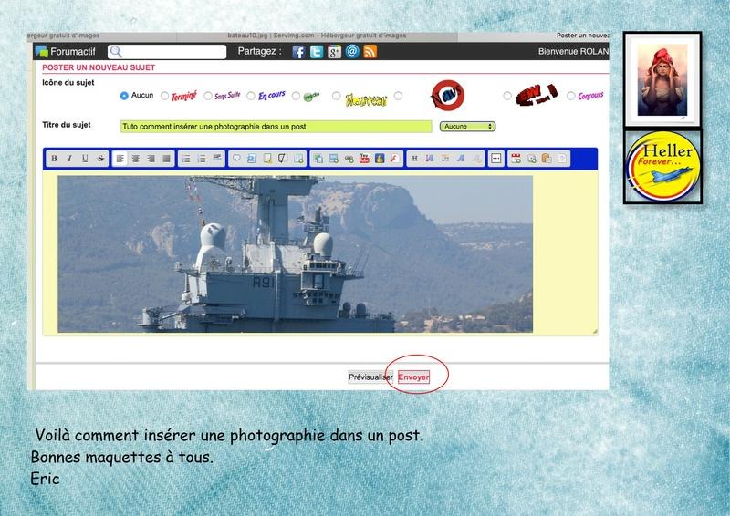 Comment insérer une image dans un post à partir de SERVIMG ...  01610