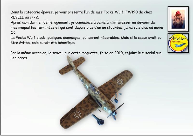 [REVELL] FOCKE WULF FW190 - 1/72 - CASSE DEMENAGEMENT Heller10