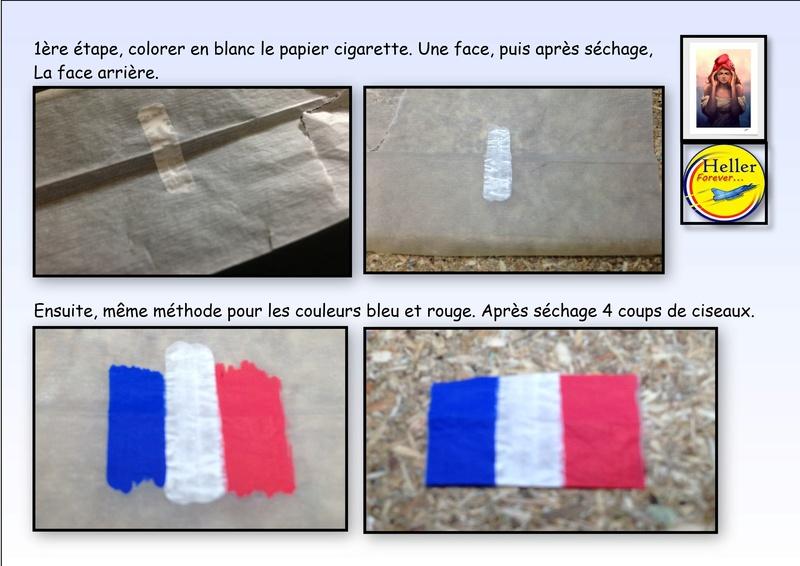 Comment faire un drapeau ou un pavillon avec du papier cigarette Papier12