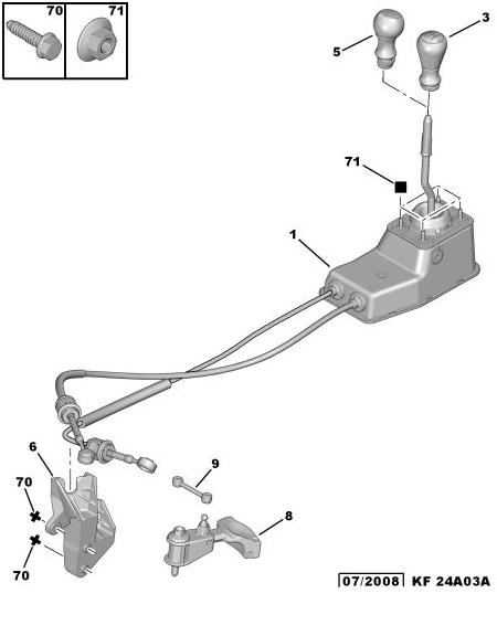 Jeu levier de vitesse (TU5JP4 boite MA) Boite_10