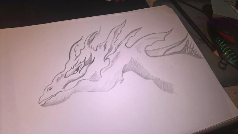 crayonnages et autres essais [dessin] Dragon10