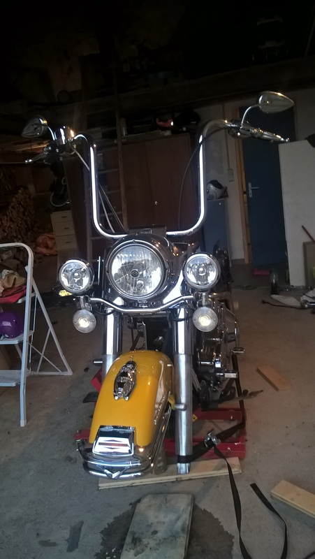 Modif de ma nouvelle acquisition road king 2005 Wp_20115