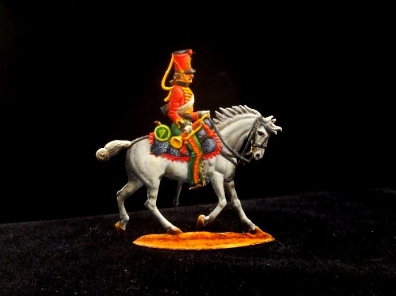 Trompette du 7e régiment de hussards Terminé F02710